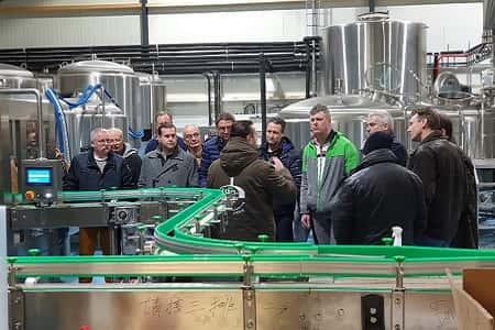Rondleiding & bierproeverij brouwerij dn drul stollenberg, Groesbeek