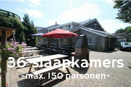 Groepsaccommodatie 150 personen bij Nijmegen