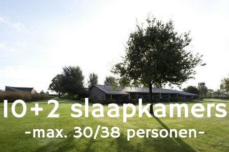 Groepsaccommodatie 38 personen bij Nijmegen