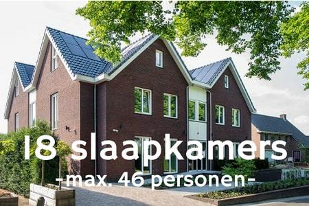 Groepshotel voor 40 personen bij Nijmegen