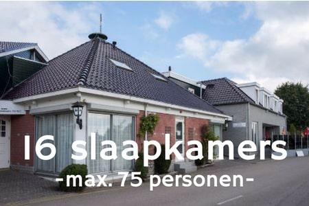 Groepsaccommodatie 75 personen bij Nijmegen