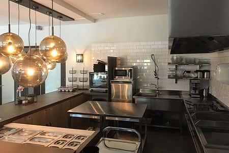 Groepshotel met professionele keuken