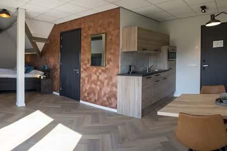 Kamers met eigen zitje en privacy in het groepshuis