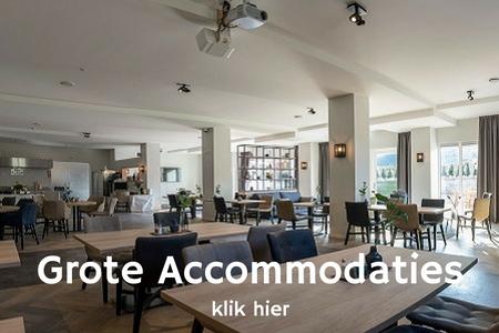 Groepsaccommodatie Nijmegen, grote accommodaties