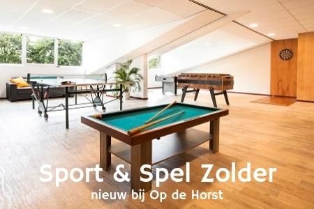 Nieuwe faciliteiten, Groepsaccommodatie bij Nijmegen