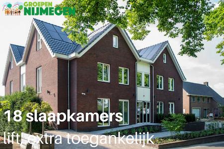 Vergaderlocatie Nijmegen | 18 slaapkamers | Lift aanwezig