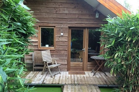 Vakantiehuisje bij Nijmegen, 4 personen, 1 slaapkamer