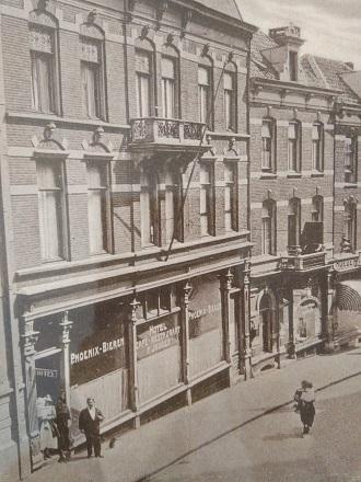 Hotel Cafe F.Jooren ca. 1920